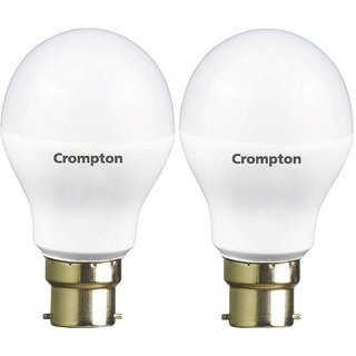 Crompton LED Bulb 9W - Cool Day Light - Pack of 2