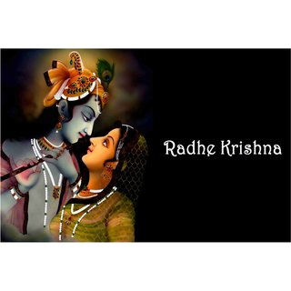 Lord Shri Radhe Krishna Poster for Room