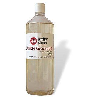 IndicWisdom Cold Pressed Coconut Oil 1 Ltr