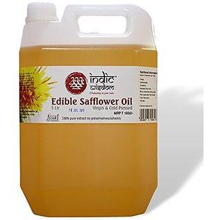 Cold Pressed safflower Oil 5 Liters