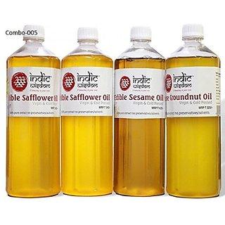 Combo 005 (2 litre Safflower Oil1 litre Sesame Oil1 litr Groundnut Oil)