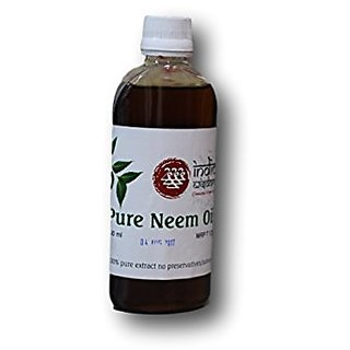 IndicWisdom Cold Pressed Neem Oil 200ml