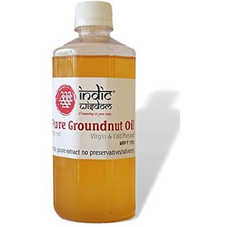 IndicWisdom Cold Pressed Groundnut Oil 500ml