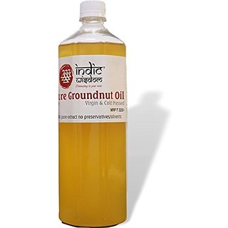 Cold Pressed Groundnut Oil 1 Liter