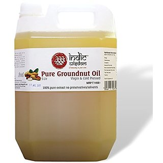 Cold Pressed Groundnut Oil 5 Ltr