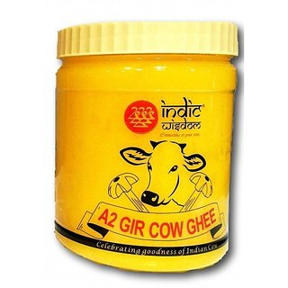 Hand Churned Desi Gir Cow Ghee 900ml