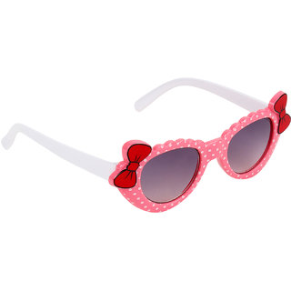 b4a2ade09973 35%off Zyaden Girls Black Full Rim UV Protection Cat-eye Sunglasses