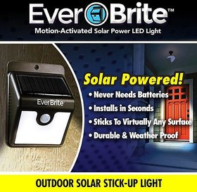 Tuzech EverBrite Motion Sensored Outdoor/Indoor Bright Led Lamp