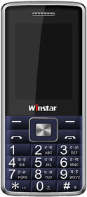 Winstar D555+ Feature Mobile Phone-Blue(1800 MAh Batter