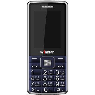 Winstar D555+ Feature Mobile Phone-Blue(1800 MAh Batter