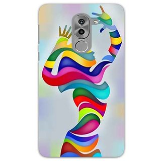 Printgasm Huawei Honor 6x printed back hard cover/case,  Matte finish, premium 3D printed, designer case