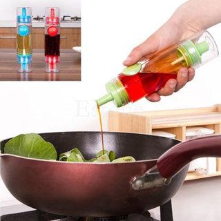 2 in 1 Cooking Oil Sauce Vinegar Sprayer Dispenser  Kitchen Tools