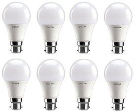 Vizio B22 6-9 W Natural White 800-1100 Lumens Premium Led Bulbs pack of 8