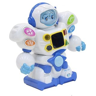 Remote Controlled Musical and Learning Intelligent Robot with led Lights and sounds for Kids