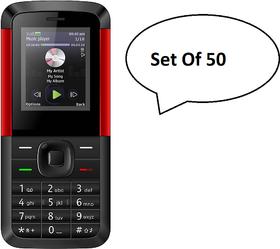 Pack Of 50, IKall K5310 (Dual Sim, 1.8 Inch Display, 80