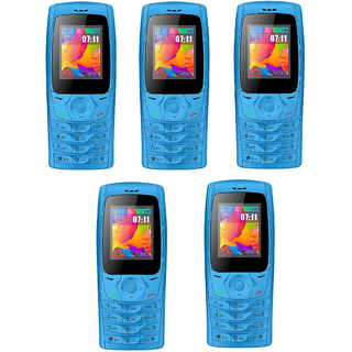 Set of 5 IKALL K6610 (1.8inch DualSIM Made in India) Multimedia Mobile