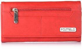 Fostelo Women's Versatile Clutch  (Red) (FC-08)