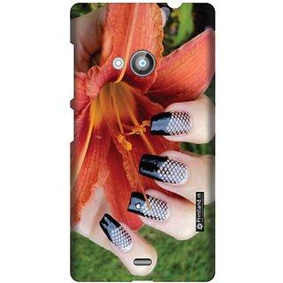Printland Back Cover For Nokia Lumia 535