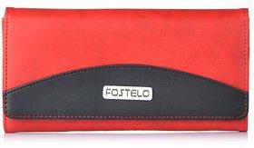 Fostelo Women's Sunrise Clutch  (Red) (FC-14)