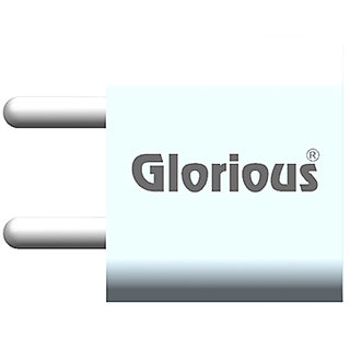 Glorious Fast Charging Wall Charger GMC-X-101D 1.0A for Mobile  Tablet (Mobile Adaptor - Dock ) - White