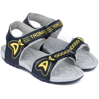 Trona Men'S Sports  Sandals Olive Navy Yellow