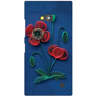 Printland Back Cover For Nokia Lumia 730