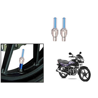 Himmlisch Bike Motion Sensor Tyre LED Blue Set of 2   For Hero Super Splendor