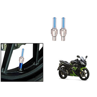 Himmlisch Bike Motion Sensor Tyre LED Blue Set of 2   For Yamaha YZF-R15 S