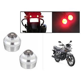 Himmlisch Bike Red LED Projector Strobe Brake Lights Set Of 2  For Honda CB Shine