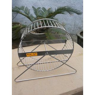 Hamster wheel, guinea pig wheel  mice or rat wheel in ss size10 inch dia