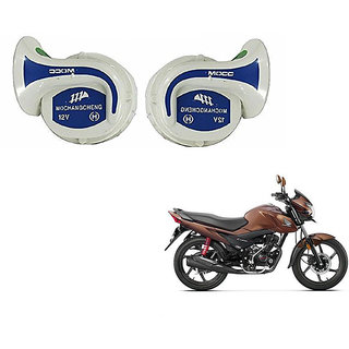 Himmlisch Mocc Bike 18 in 1 Digital Tone Magic Horn Set Of 2-- For  Honda Livo