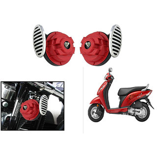 Himmlisch Type R Super Car / Bike Horns - Set of 2- For  Honda Activa i