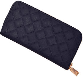 Geometric Zipper Wallet