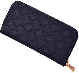 Geometric Zipper Wallet