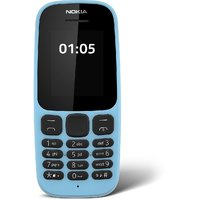 Nokia 105 Single Sim New Mobile Phone 2017 Blue