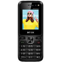 Intex Eco Selfie Dual Sim Mobile Phone Balck