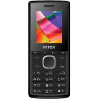 Intex Eco Plus Dual Sim Mobile Phone Black