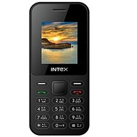 Intex Eco 105 Dual Sim Mobile Phone Black