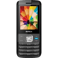 Intex Lion G1 Dual Sim Mobile Phone Black+Blue