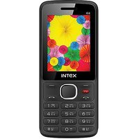 Intex Lions G2 Dual Sim Mobile Phone Black+Grey