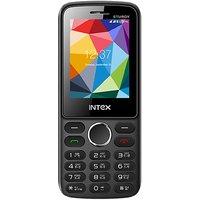 Intex In-Sturdy Dual Sim Mobile Black+Blue