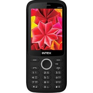 Intex Instun Dual Sim Mobile Black