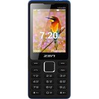 Zen Ultra 504 Dual Sim Mobile Black+Blue
