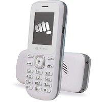 Micromax X072 Dual Sim Mobile Phone - White