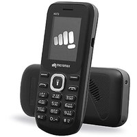 Micromax X072 Dual Sim Mobile Phone Black