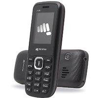 Micromax X406 Dual Sim Mobile Phone Black