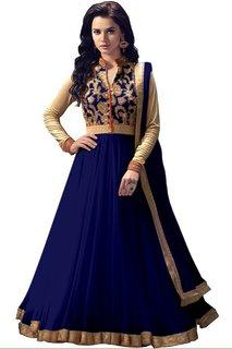 Home Deal Fancy Anarkali Salwar Suit With Dupatta