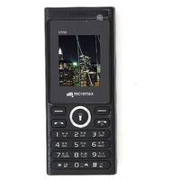 Micromax X590 Dual Sim Mobile Phone Black
