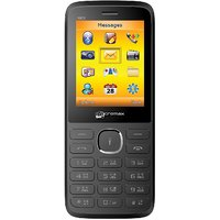 Micromax X601 Dual Sim Mobile Phone (Black)