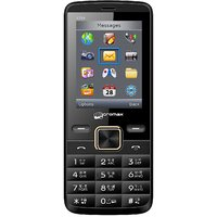 Micromax X704 Dual Sim Mobile Phone (Black)
